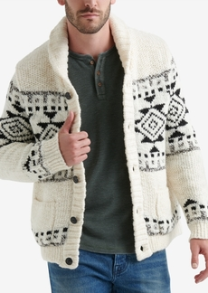 Lucky Brand Men's Shawl-Collar Cardigan