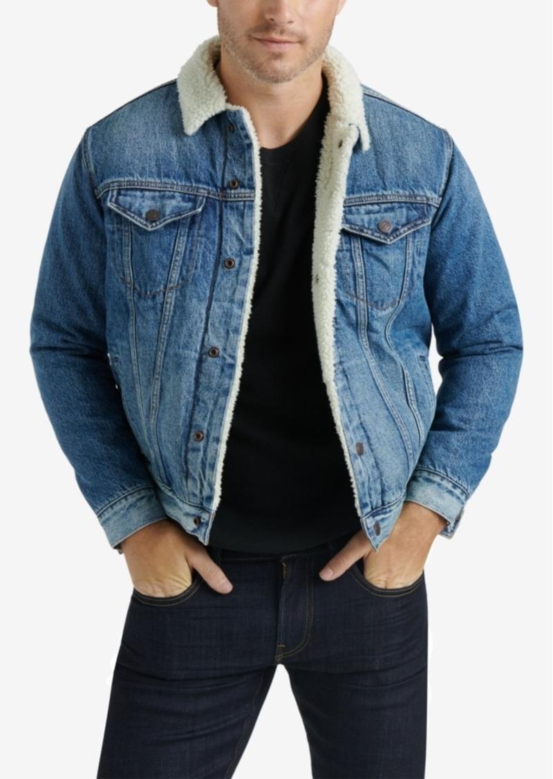 Lucky Brand Men's Sherpa Denim Jacket