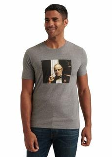 Lucky Brand Men's Short Sleeve Crew Neck Brando Godfather Tee  XXL