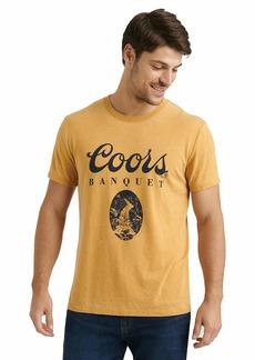 Lucky Brand Men's Short Sleeve Crew Neck Coors Tee  S