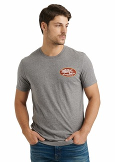 Lucky Brand Men's Short Sleeve Crew Neck Miller High Life Tee  L