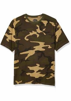 Lucky Brand Men's Short Sleeve Crew Neck  Shirt L