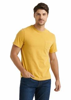 Lucky Brand Men's Short Sleeve Crew Neck Sunset Pocket Tee Shirt