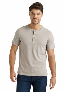Lucky Brand Men's Short Sleeve Henley Shirt  S