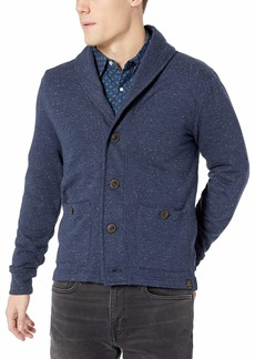 Lucky Brand Men's Show Heather Shawl Cardigan Sweater  XL