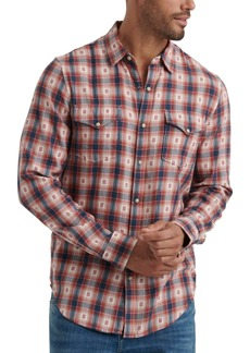 Lucky Brand Men's Snap Flannel Shirt