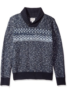 Lucky Brand Men's Snowshoe Shawl Sweater