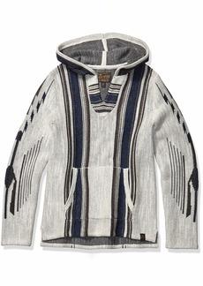 Lucky Brand Men's Southwestern Baja Sweatshirt  S