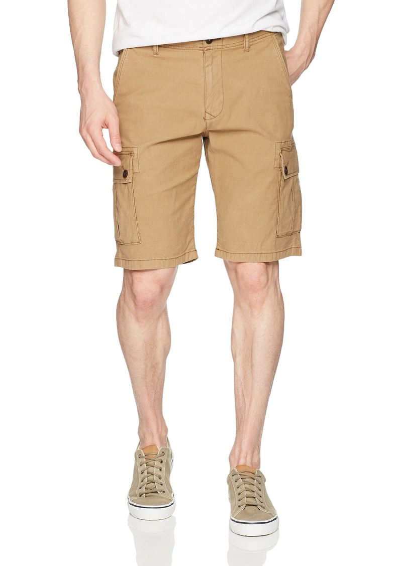 Lucky Brand Men's Stretch Sateen Cargo Short kelp