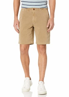 Lucky Brand Men's Stretch Twill Flat Front Short