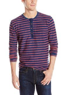 Lucky Brand Men's Stripe Long-Sleeve Henley  XX-Large