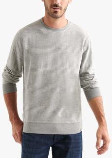 Lucky Brand Men's Striped Terry Sweatshirt