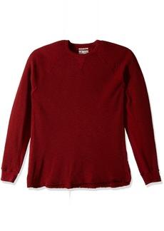 Lucky Brand Men's Strong Boy Thermal Crew Shirt Biking red XL