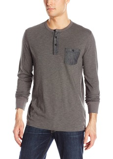 Lucky Brand Men's Surfside Indigo Stripe Henley