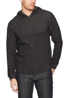 Lucky Brand Men's Thermal Mockneck Shirt  S