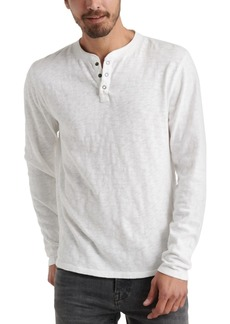 Lucky Brand Men's Three-Snap Henley