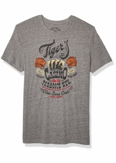 Lucky Brand Men's Tigers DEN TEE  L