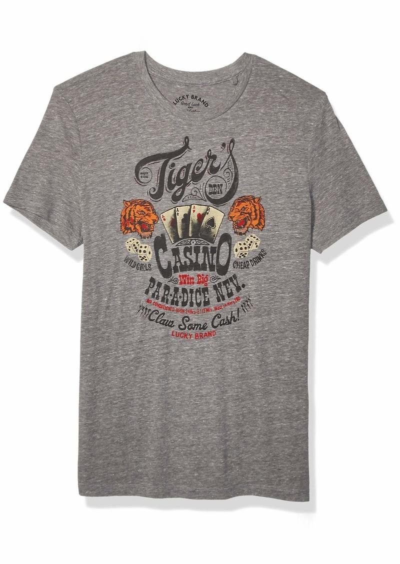 Lucky Brand Men's Tigers DEN TEE  L