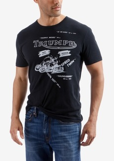 Lucky Brand Mens Triumph All Over Graphic T-Shirt