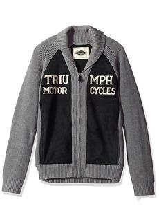 Lucky Brand Men's Triumph Shawl Cardigan Sweater  S