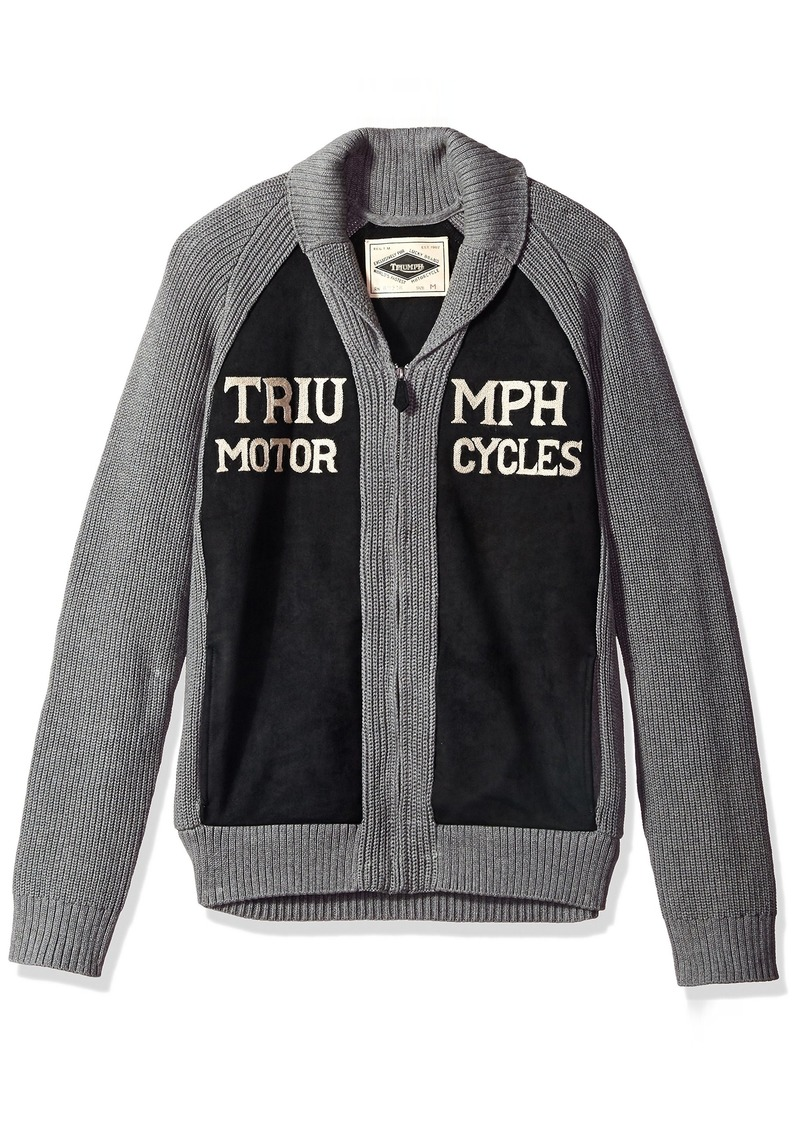 Lucky brand mens triumph shawl cardigan sweater s