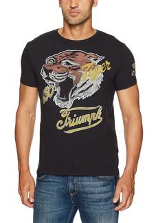 Lucky Brand Men's Triumph Tiger Tee  S