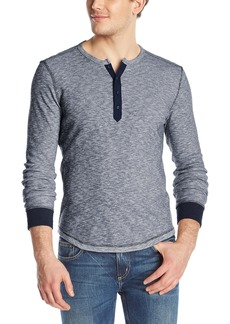 Lucky Brand Men's Twisted Slub Henley Shirt