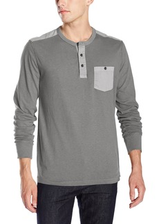 Lucky Brand Men's Two-Button Henley