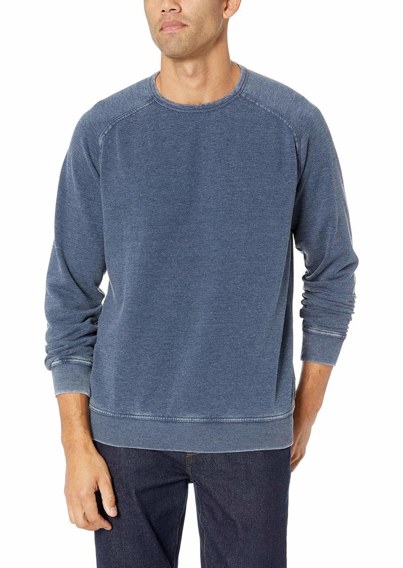 Lucky Brand Men's Venice Burnout Crew Neck Sweatshirt  M