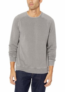 Lucky Brand Men's Venice Burnout Crew Neck Sweatshirt  M