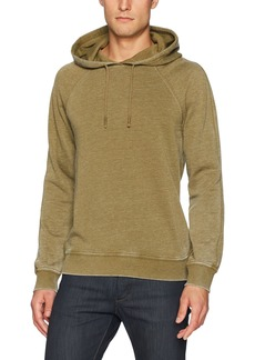 Lucky Brand Men's Venice Burnout Hoodie in Olive Military