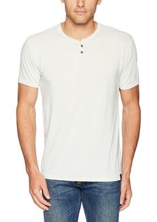 Lucky Brand Men's Venice Burnout Notch Neck TEE Shirt surf Spray S