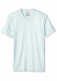 Lucky Brand Men's Venice Burnout V Neck Tee  M