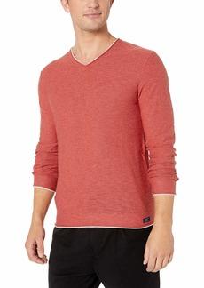 Lucky Brand Men's WELTER Weight V-Neck Pullover Sweater  XL