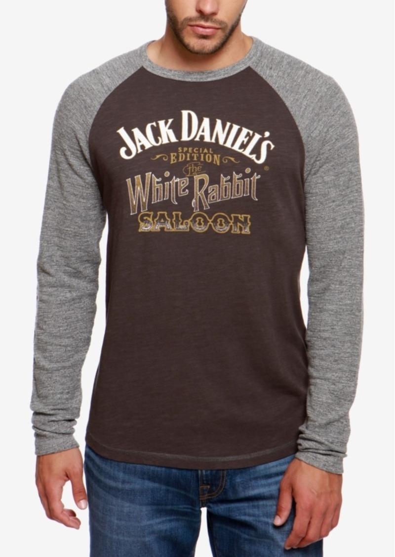 fec1af3e6 Lucky Brand Lucky Brand Men's White Rabbit Saloon Raglan T-shirt   T ...