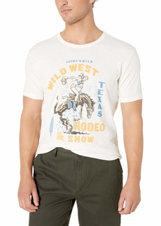 Lucky Brand Men's Wild WEST Rodeo Show TEE  S