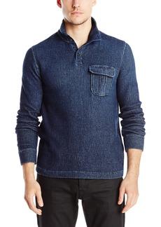 Lucky Brand Men's Workwear Mock Neck Sweater