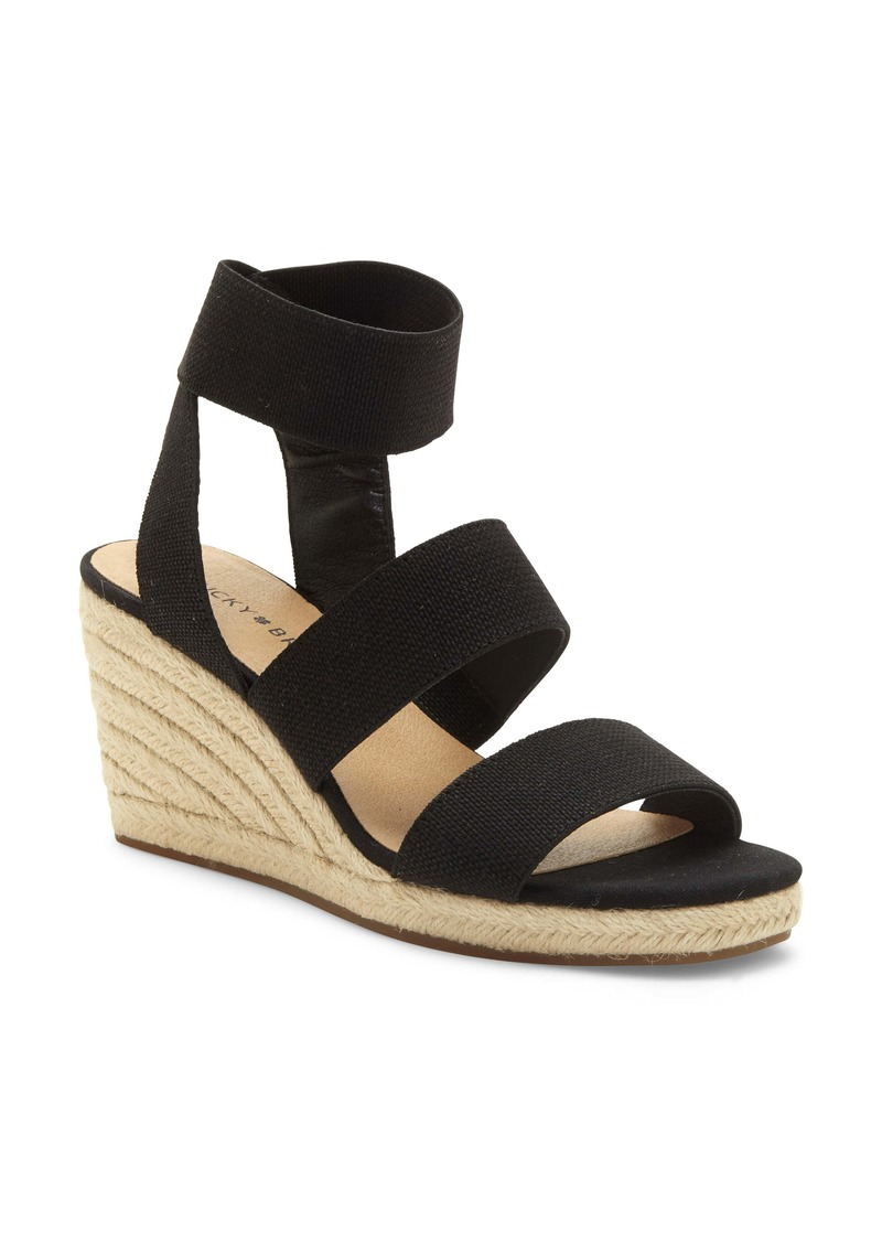 Lucky Brand Mindara Wedge Sandal (Women)