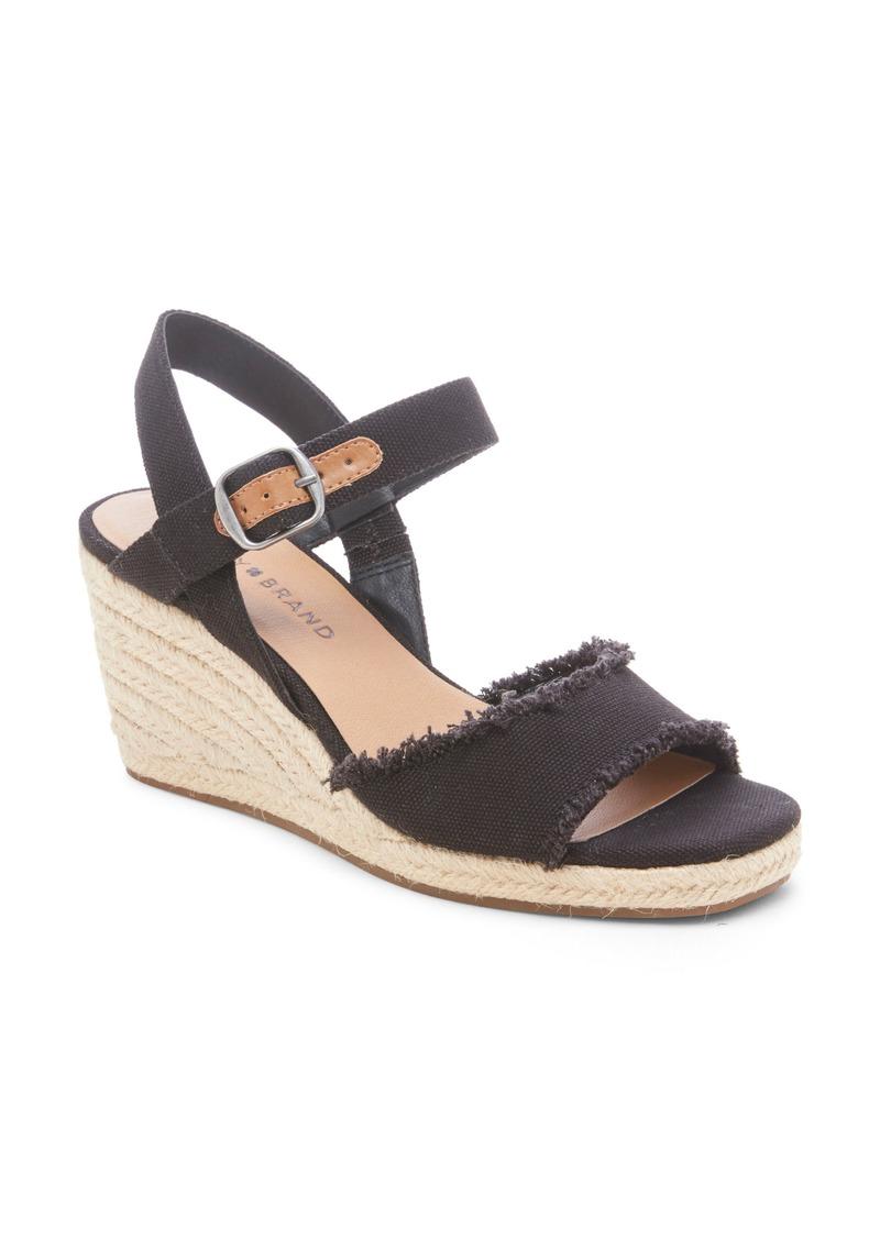 Lucky Brand Mindra Espadrille Wedge Sandal (Women)