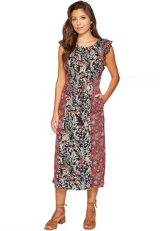 Lucky Brand Mixed Floral Dress
