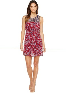 Lucky Brand Mixed Print Dress