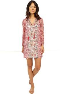 Lucky Brand Mixed Print Dress