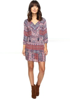 Lucky Brand Mosaic Striped Dress