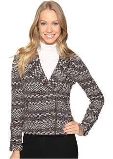 Lucky Brand Moto Sweater