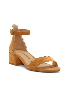 Lucky Brand Norreys Scallop Ankle-Strap Sandals