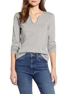 Lucky Brand Notch Neck Tee