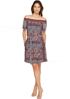 Lucky Brand Off Shoulder Knit Dress