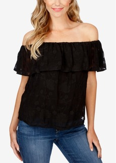 Lucky Brand Off-The-Shoulder Top