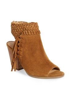 Lucky Brand Ointlee Fringe Bootie Sandal (Women)