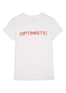 Lucky Brand Optimistic Graphic Tee